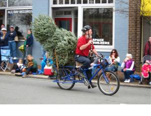 Bike Tree - Dave in December 2012