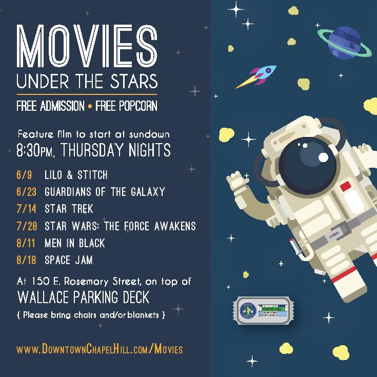 Movies Under the Stars Summer 2016