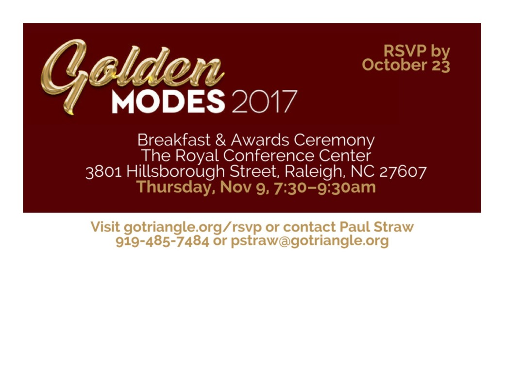 Golden Modes 2017