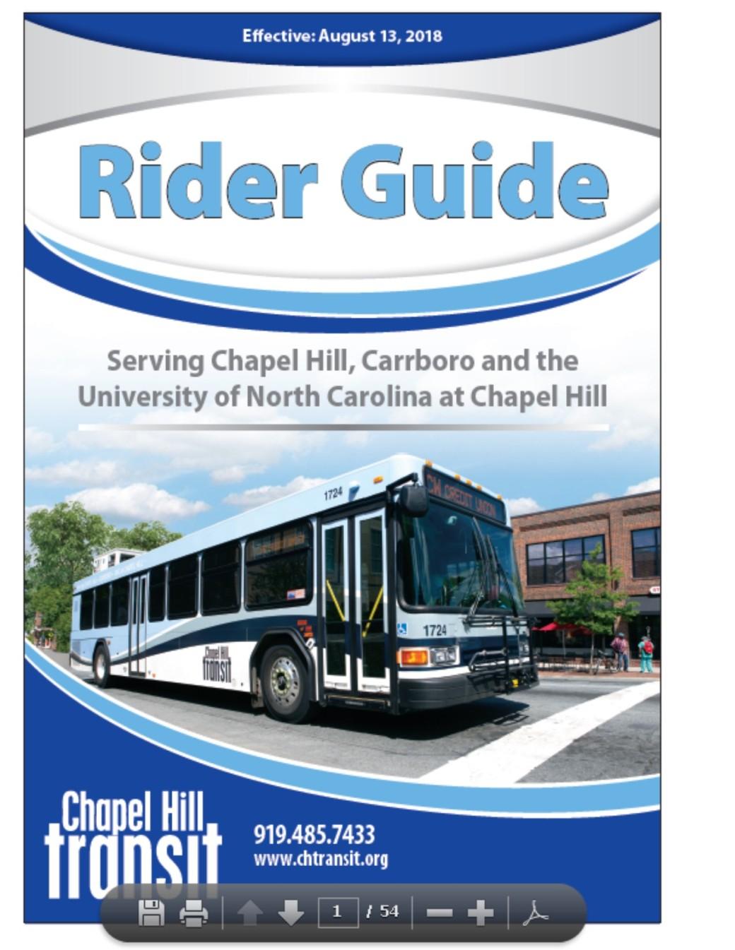 Rider Guide