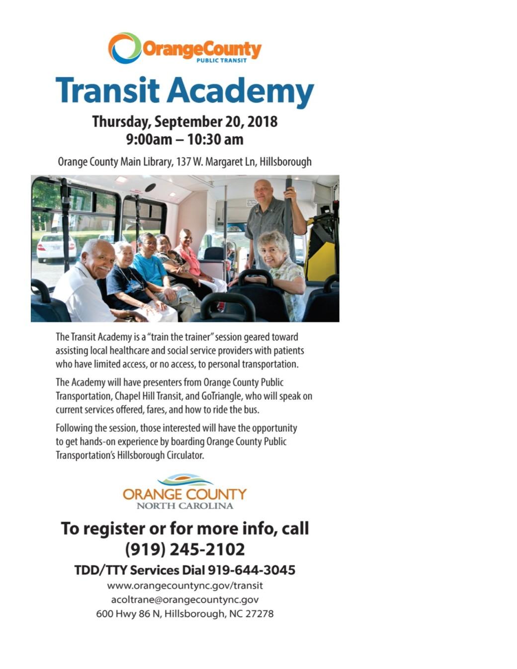 Transit Academy