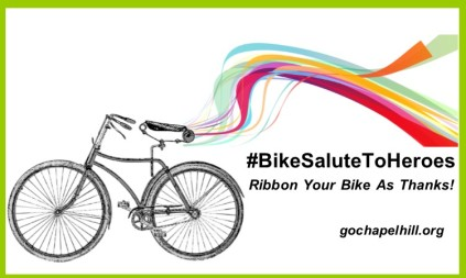 Bike Salute Ribbon I