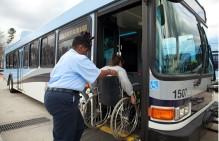 Wheelchair On Bus